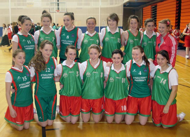 2nd year basketball squad - 2010