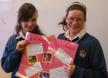 2010-2011 Cultural Awareness Week - Aoife King and Shannon Supple