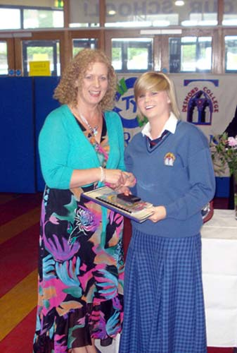 2010-2011 Student Awards: Transition Year : Claire Browne