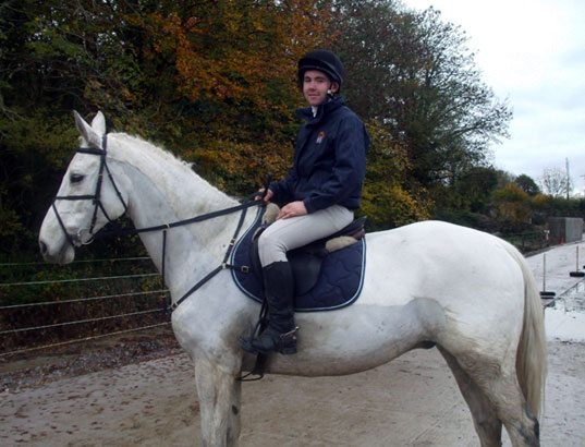 Equestrian 2010-2011 : No nerves on Jamie
