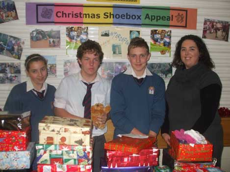 2010-2011 : Charity Events : Shoebox Appeal