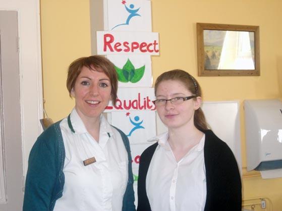 Transition Year 2010-2011 : Rachel O Mahony at Gaelscoil