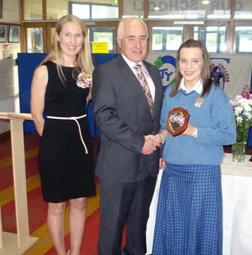 2010-2011 Student Awards : Transition Year : Student of the Year