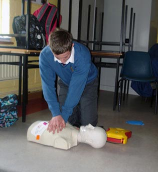 2010-2011 Transition Year First Aid