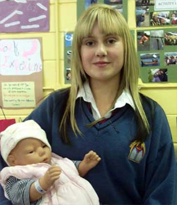 2010-2011 Transition Year : Rachel and V Baby