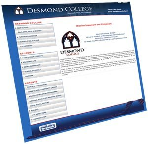 Desmond College New Website