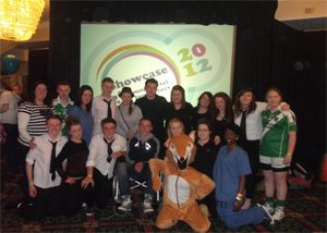 Transition Year Students involved in Young Social Innovators 2012