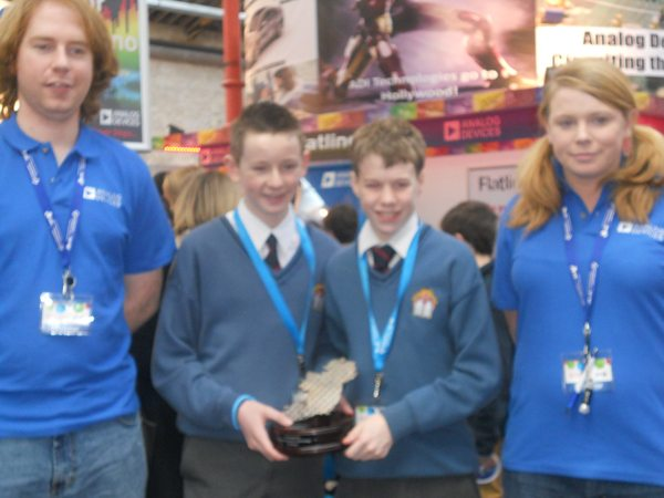 Desmond College VEC Limerick Winners of the Analog Travel Award