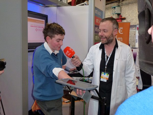 BT Young Scientist Award 2012 Desmond College interview with RTE