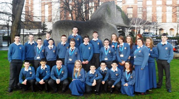 Desmond College Thirty Students at RDS Young Scientist Competition 2012