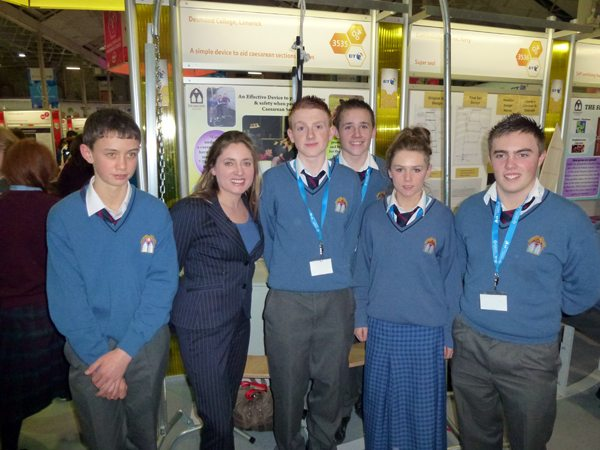 Desmond College Young Scientist Exhibition 2012 RDS Cesarean Section Cows