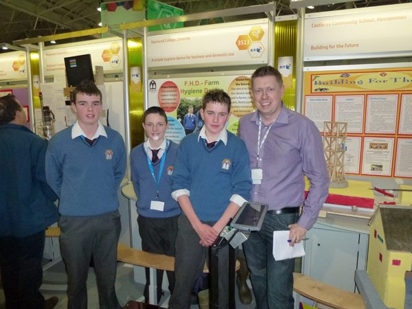 Desmond College Young Scientist Newcastle West VEC Limerick 2012