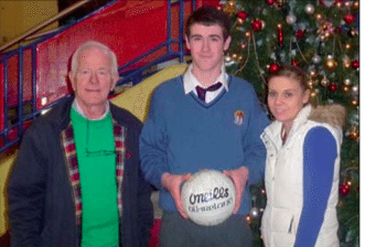 Winner of a Gaelic Football at the Field Development Draw 2012 Desmond College
