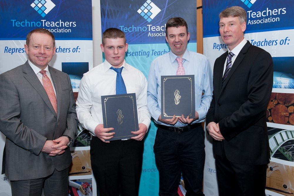 Desmond College Student receiving National Students Awards