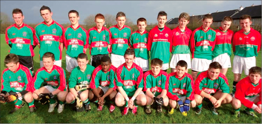 desmond college under 18 football team in co limerick post primary championships