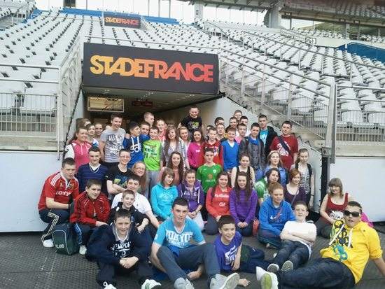 statefrance: desmond college 2nd year tour to paris