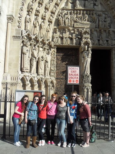 2nd year Trip to Paris : Notre Dame