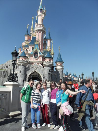 Desmond College Newcastlewest Secondary School : 2nd year trip to Paris EuroDisney