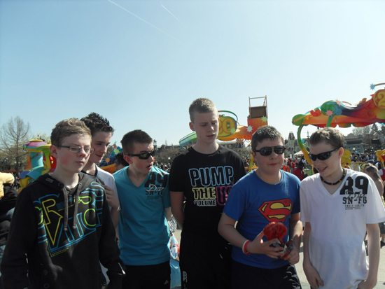 Newcastlewest Limerick School Tour : 2nd year trip to Paris : Euro Disney