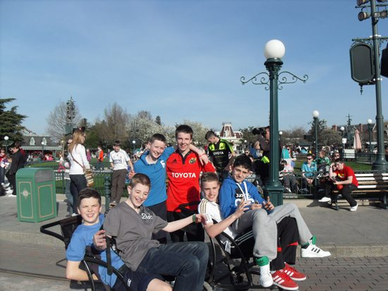 NewcastleWest Limerick VEC School : 2nd Year trip to paris france