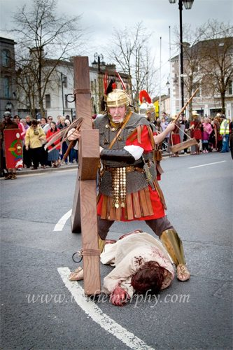 the way of the cross held in newcastlewest limerick on good friday 6th april 2012