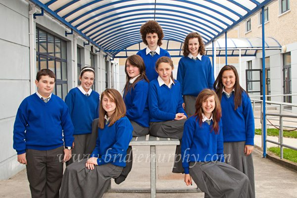 Desmond College Gaelcholaiste First Year Students