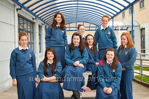Desmond College Secondary School Newcastle West First Year Students