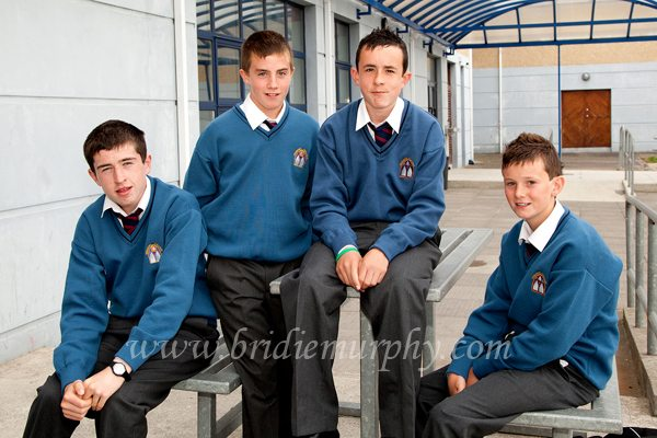 First Year Students attending Desmond College Secondary School
