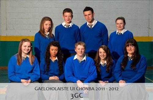 Gaelcholáiste Uí Chonbá 3GC : 2011 - 2012
