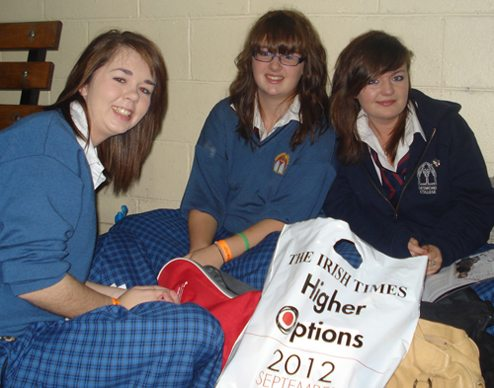 RDS Higher Options Conference attended by Desmond College Students