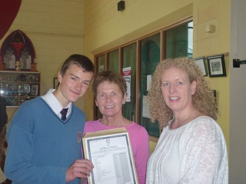 Desmond College Student Receives His Junior Certificate Results