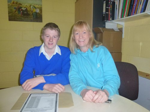 Desmond College Student Receives Junior Cert Results