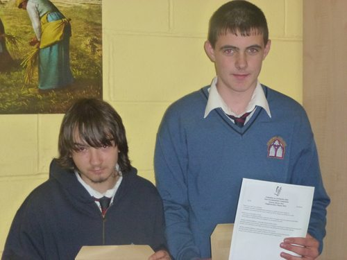 Junior Certificate Results for Students in Desmond College Newcastlewest