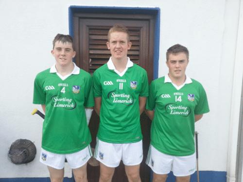 Desmond College Students: Limerick U16 Hurling Team
