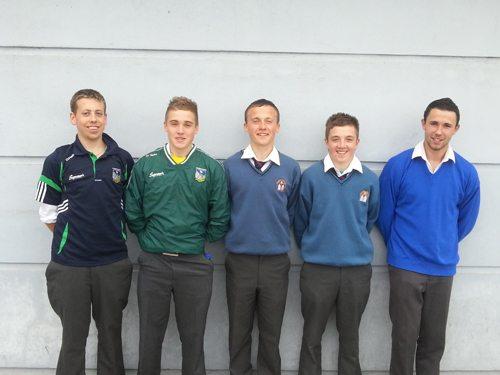 Desmond College Students: Limerick U15 Hurling Team