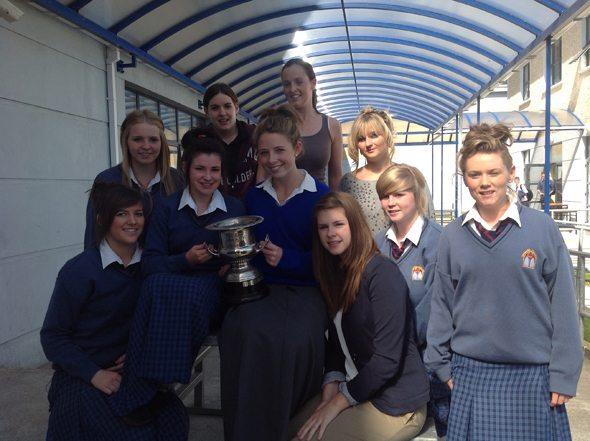 Limerick Ladies Intermediate Football Championship 2012 winning team