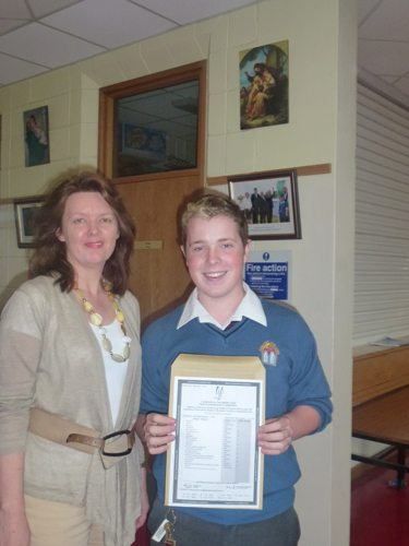Desmond College Student receive Junior Certificate Results