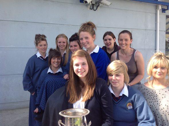 Monagea Ladies Team, winners of Limerick Ladies Intermediate Football Championship 2012