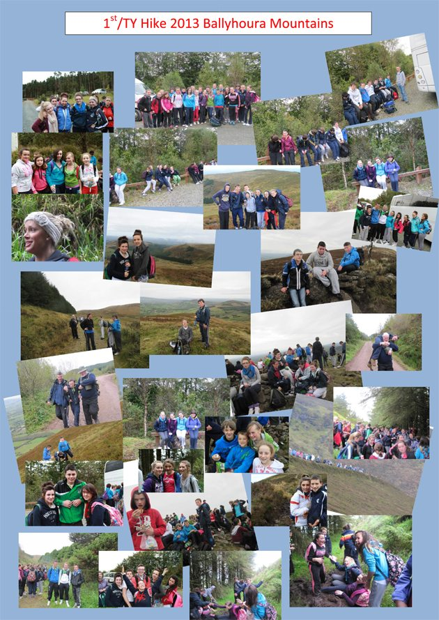 Desmond College 1st/TY Hike : 2013 Ballyhoura Mountains