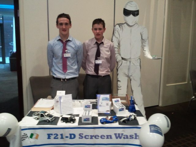 Desmond College Transition Year Business F21-D in the Young Dragon's Den Final on 8th Dec 2012