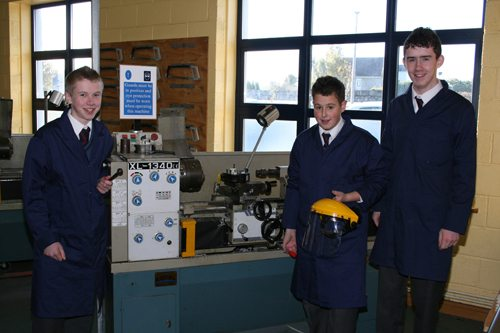 One of Desmond College's 16 groups selected for the BT Young Scientist Awards Competition
