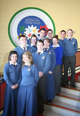 Desmond College students selected for the BT Young Scientist Competition 2013