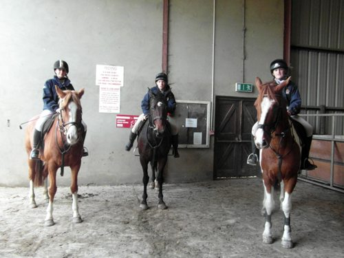 2011 - 2012 Desmond College students in the Equestrian Show Jumping League