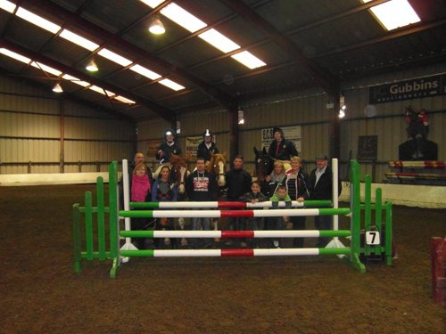 Show Jumping Team from Desmond College