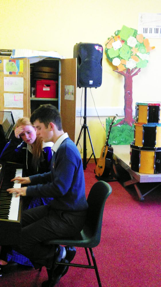 Desmond College Music Students Playing Piano