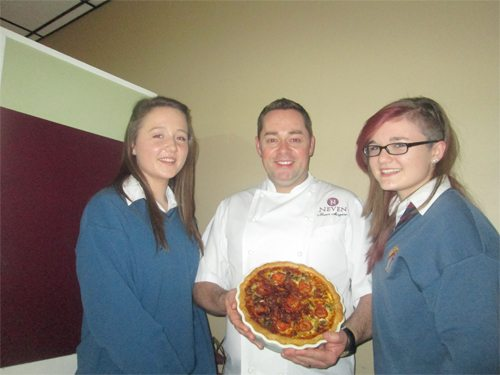 Desmond College Students invited to cook with Neven Maguire