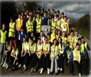 Students from Desmond College 2012 taking part in Operations Transformation Beat the Bleep