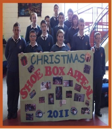 Rang Barra Christmas Shoe Box Appeal