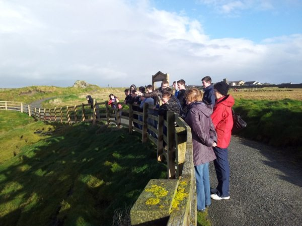 JSCP students from Desmond College on Geography Field Trip to Ballybunnion Kerry