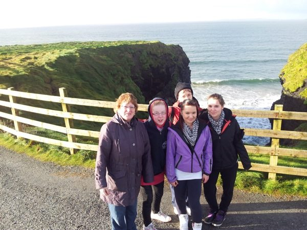 JSCP students from Desmond College Newcastlewest on Geography Field Trip to Ballybunnion County Kerry